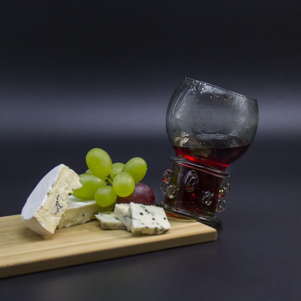 Red wine glass Römer