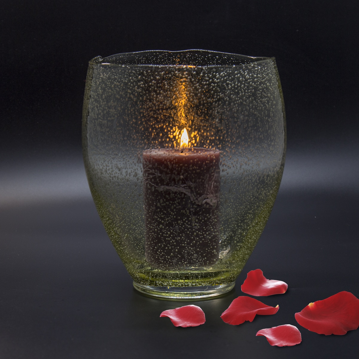 Candle made with Tar