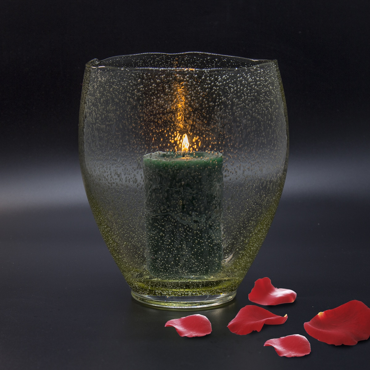 Candle made with Lavendel